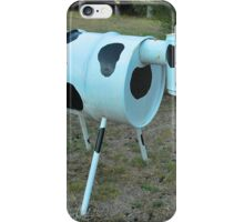Moo Moo Mailbox # 30 iPhone Case/Skin