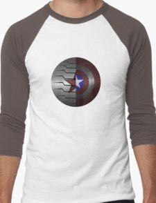 Steve and Bucky Shield Men's Baseball ¾ T-Shirt