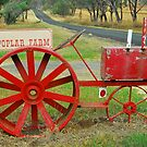 Big Red Tractor Box by Penny Smith
