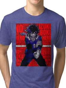 Izuku Midoriya - Boku no Hero Academia | My Hero Academia Tri-blend T-Shirt