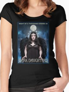 Night of 1000 Stevies 26: Dark Daughters T Shirts Benefit Animals Women's Fitted Scoop T-Shirt