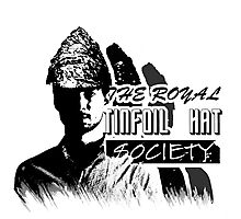 The Royal Tinfoil Hat Society Photographic Print