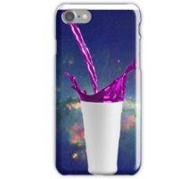 Lean House! Purple Drank Sizzurp Drink! iPhone Case/Skin