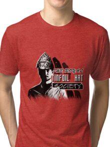 The Royal Tinfoil Hat Society Tri-blend T-Shirt
