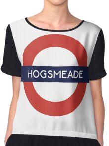 Hogsmeade Underground Sign- Harry Potter Chiffon Top