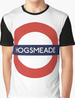 Hogsmeade Underground Sign- Harry Potter Graphic T-Shirt