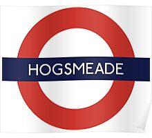 Hogsmeade Underground Sign- Harry Potter Poster