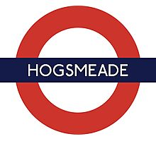 Hogsmeade Underground Sign- Harry Potter Photographic Print