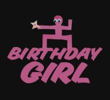 Ninja Ninja Birthday Girl One Piece - Long Sleeve