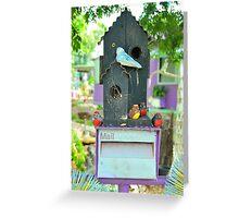 Budgie Box Greeting Card
