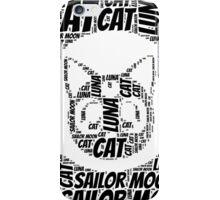 Sailor Moon and Luna iPhone Case/Skin