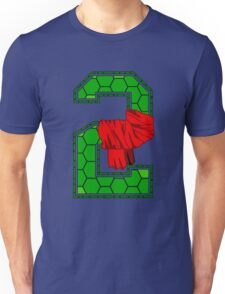 Turtle Shell Jersey Number - 2 Unisex T-Shirt