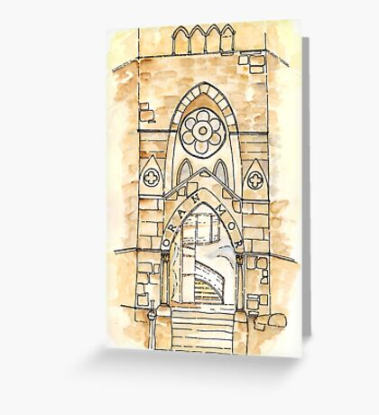 Oran Mor, Glasgow Greeting Card