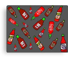 Hot Sauce!  Canvas Print