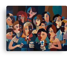 THE OFFICE PARTY Canvas Print