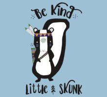 Woodland Skunk Baby Tee
