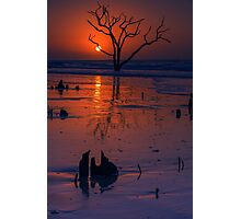 Sunrise on Boneyard Beach Photographic Print