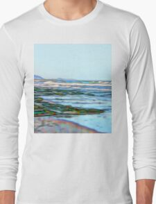 Fabulous abstract ocean view of the Pacific Ocean Long Sleeve T-Shirt