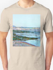 Fabulous abstract ocean view of the Pacific Ocean T-Shirt