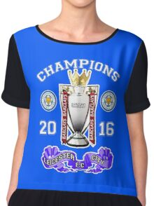 leicester champions Chiffon Top