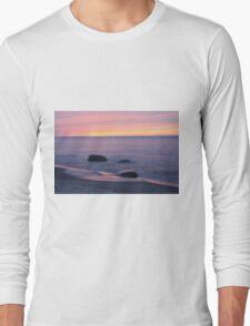 Serene Superior Sunset Long Sleeve T-Shirt