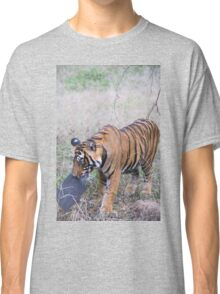 Young Bengal Tiger Prowling Classic T-Shirt