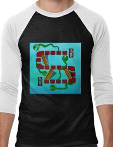 Eels and Escalators Men's Baseball ¾ T-Shirt