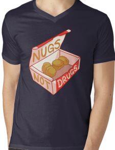 """Nugs Not Drugs"" Mens V-Neck T-Shirt"