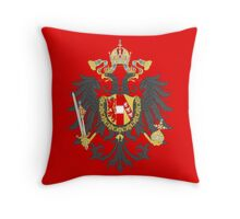 Imperial Coat of Arms of the Austrian Empire Throw Pillow