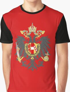Imperial Coat of Arms of the Austrian Empire Graphic T-Shirt