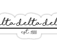 Tri Delta Established Arrow Sticker