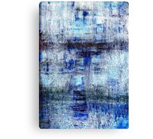 Blue Abstract #3091 Canvas Print