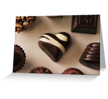 I ❤ Chocolate Greeting Card