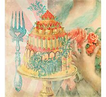 Let Them Eat Cake Photographic Print