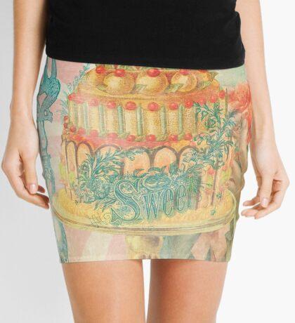 Let Them Eat Cake Mini Skirt