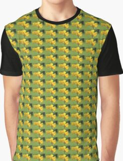 Yellow Canna Lilies Graphic T-Shirt