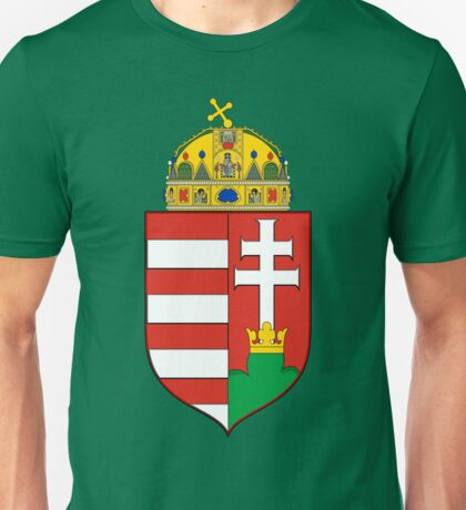 Coat of Arms of the Kingdom of Hungary Unisex T-Shirt