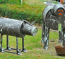 Cow Sculpture :) by Penny Smith