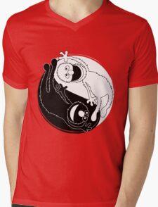 Sesame Balance Mens V-Neck T-Shirt