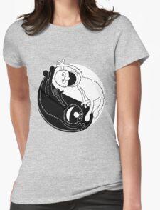 Sesame Balance Womens Fitted T-Shirt