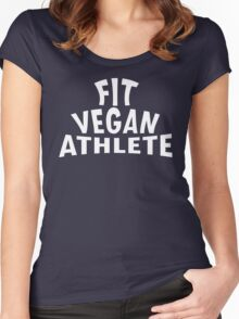 Fit Vegan Athlete Women's Fitted Scoop T-Shirt