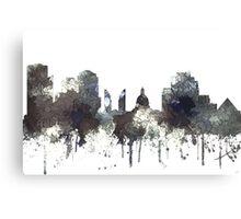 Edmonton, Alberta, Canada Skyline - CRISP Canvas Print