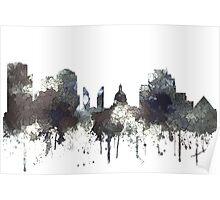 Edmonton, Alberta, Canada Skyline - CRISP Poster