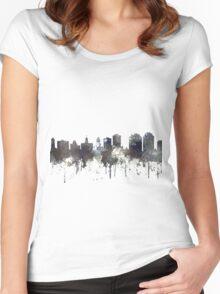 Halifax, Nova Scotia, Canada Skyline - CRISP Women's Fitted Scoop T-Shirt