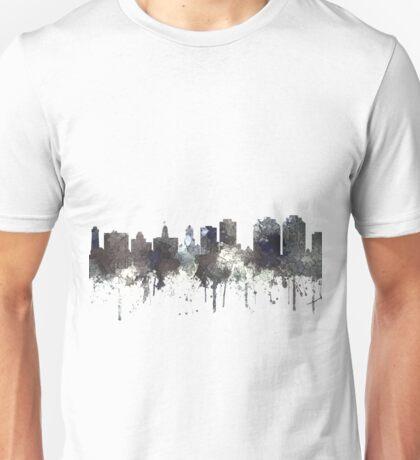 Halifax, Nova Scotia, Canada Skyline - CRISP Unisex T-Shirt