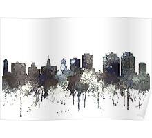 Halifax, Nova Scotia, Canada Skyline - CRISP Poster