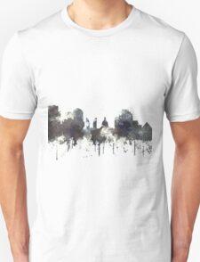 Edmonton, Alberta, Canada Skyline - CRISP T-Shirt