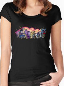 MARES OF HARMONY (ALL) Women's Fitted Scoop T-Shirt