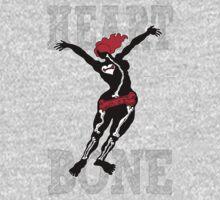 Heart Bone One Piece - Long Sleeve