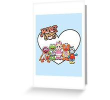 Muppet Babies! Greeting Card